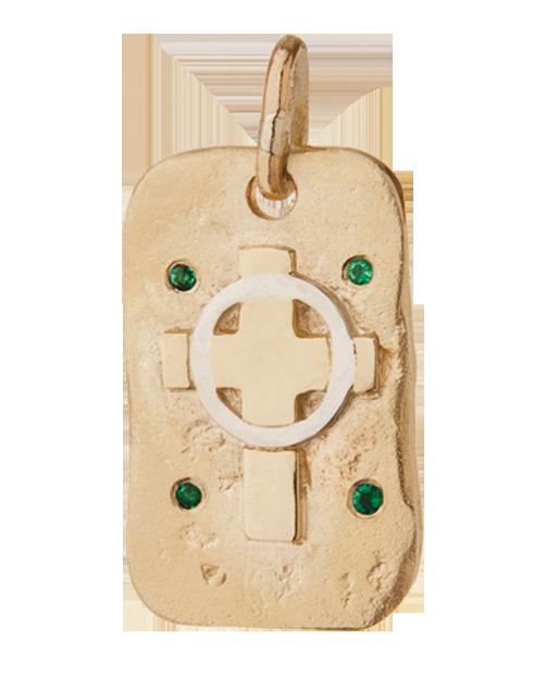 Emerald Tablet Pendant