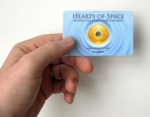 Heart Of Space Card